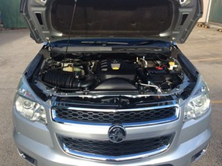 2013 Holden Colorado RG MY13 LTZ Crew Cab Silver 6 Speed Sports Automatic Utility
