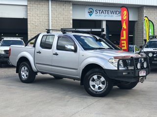 2007 Nissan Navara D40 ST-X Silver 5 Speed Automatic Utility.