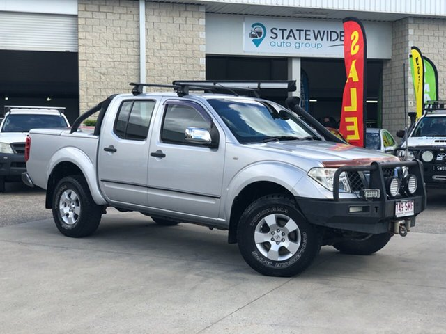 Used Nissan Navara D40 ST-X, 2007 Nissan Navara D40 ST-X Silver 5 Speed Automatic Utility
