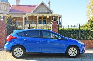 2013 Ford Focus LW MkII Ambiente PwrShift Winning Blue/warm St 6 Speed Sports Automatic Dual Clutch.