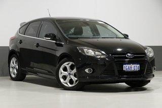 2014 Ford Focus LW MK2 Sport Black 6 Speed Automatic Hatchback.