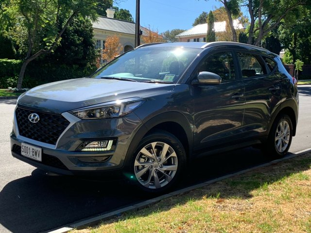 Demo Hyundai Tucson TL3 MY19 Active X 2WD, 2018 Hyundai Tucson TL3 MY19 Active X 2WD Pepper Gray 6 Speed Automatic Wagon