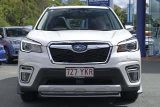 2018 Subaru Forester S5 MY19 2.5i-S CVT AWD White Crystal 7 Speed Constant Variable Wagon