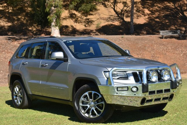 Used Jeep Grand Cherokee WK MY2014 Laredo, 2014 Jeep Grand Cherokee WK MY2014 Laredo Silver 8 Speed Sports Automatic Wagon
