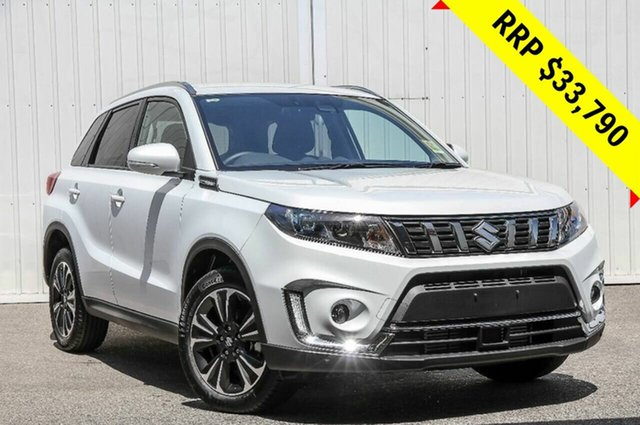 Demo Suzuki Vitara LY Series II Turbo 2WD, 2019 Suzuki Vitara LY Series II Turbo 2WD Cool White 6 Speed Sports Automatic Wagon