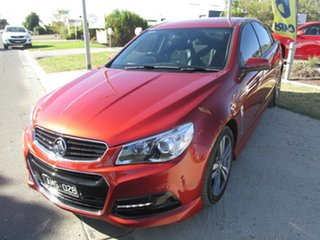 2015 Holden Commodore VF MY15 SS Red 6 Speed Sports Automatic Sedan