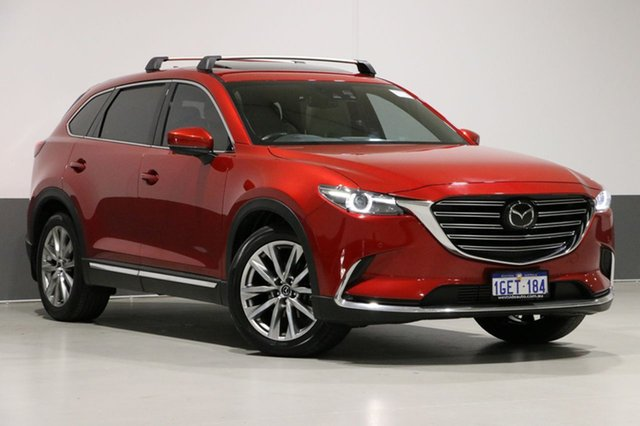 Used Mazda CX-9 MY16 Azami (FWD), 2016 Mazda CX-9 MY16 Azami (FWD) Soul Red 6 Speed Automatic Wagon