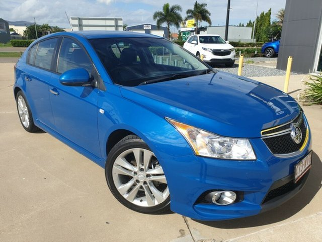 Used Holden Cruze JH Series II MY14 SRi-V, 2013 Holden Cruze JH Series II MY14 SRi-V Blue 6 Speed Manual Hatchback