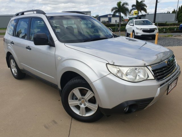Used Subaru Forester S3 MY09 X AWD, 2009 Subaru Forester S3 MY09 X AWD Silver 5 Speed Manual Wagon