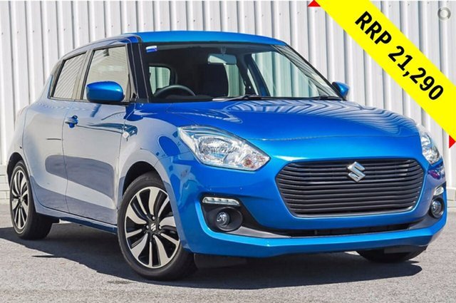 New Suzuki Swift AZ GL Navigator, 2019 Suzuki Swift AZ GL Navigator Speedy Blue 1 Speed Constant Variable Hatchback