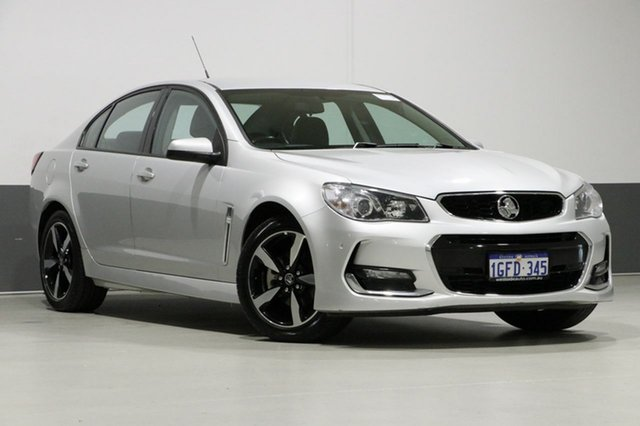 Used Holden Commodore VF II MY17 SV6, 2017 Holden Commodore VF II MY17 SV6 Silver 6 Speed Automatic Sedan