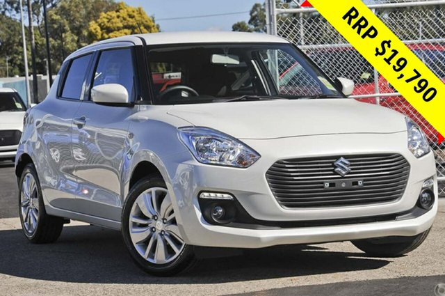 New Suzuki Swift AZ GL Navigator, 2019 Suzuki Swift AZ GL Navigator Pure White 5 Speed Manual Hatchback