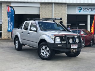 2007 Nissan Navara D40 ST-X Silver 5 Speed Automatic Utility