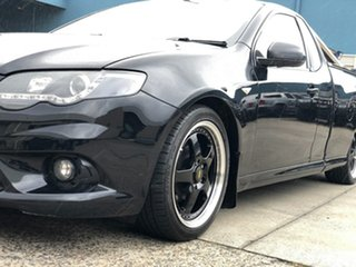 2011 Ford Falcon FG MkII XR6 Ute Super Cab Black 6 Speed Manual Utility
