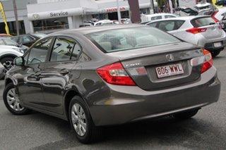 2012 Honda Civic 9th Gen Ser II VTi Grey 5 Speed Sports Automatic Sedan.