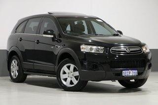2012 Holden Captiva CG Series II 7 SX (FWD) Black 6 Speed Automatic Wagon.