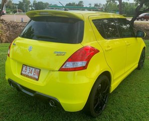 2014 Suzuki Swift FZ MY14 Sport Yellow 6 Speed Manual Hatchback.