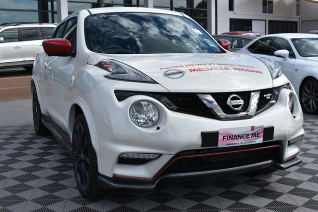 New Nissan Juke F15 MY18 NISMO X-tronic AWD RS, 2018 Nissan Juke F15 MY18 NISMO X-tronic AWD RS Ivory Pearl 8 Speed Constant Variable Hatchback