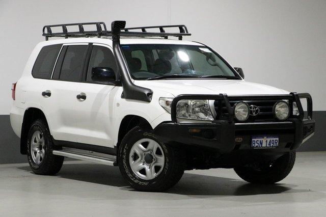 Used Toyota Landcruiser VDJ200R GX (4x4), 2011 Toyota Landcruiser VDJ200R GX (4x4) White 6 Speed Automatic Wagon