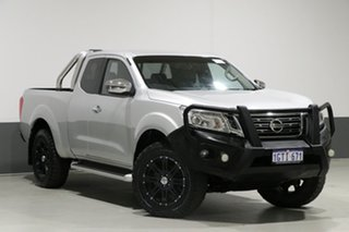 2015 Nissan Navara NP300 D23 ST-X (4x4) Silver 6 Speed Manual King Cab Utility.