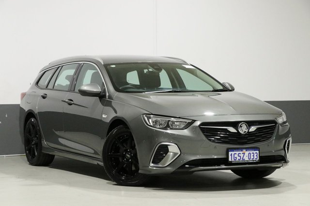 Used Holden Commodore ZB RS, 2018 Holden Commodore ZB RS Grey 9 Speed Automatic Sportswagon