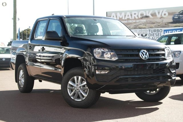 Demo Volkswagen Amarok 2H MY18 TDI420 4MOTION Perm Core, 2018 Volkswagen Amarok 2H MY18 TDI420 4MOTION Perm Core Black 8 Speed Automatic Utility
