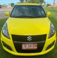 2014 Suzuki Swift FZ MY14 Sport Yellow 6 Speed Manual Hatchback