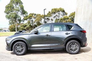 2018 Mazda CX-5 KF4WLA Maxx SKYACTIV-Drive i-ACTIV AWD Sport Machine Grey 6 Speed Sports Automatic
