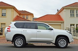 2016 Toyota Landcruiser Prado GDJ150R VX White 6 Speed Sports Automatic Wagon.