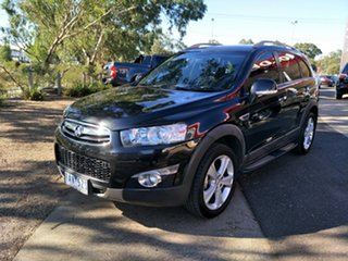 2013 Holden Captiva CG MY13 7 AWD LX Black/Grey 6 Speed Sports Automatic Wagon.