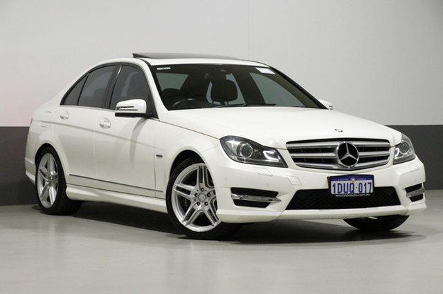 Used Mercedes-Benz C250 W204 MY11 Avantgarde BE, 2012 Mercedes-Benz C250 W204 MY11 Avantgarde BE White 7 Speed Automatic G-Tronic Sedan