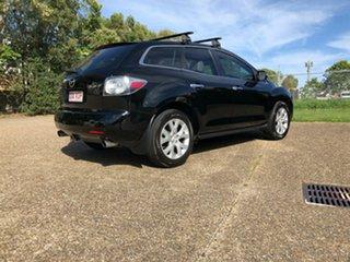 2007 Mazda CX-7 ER1031 MY07 Luxury Black 6 Speed Automatic Wagon.