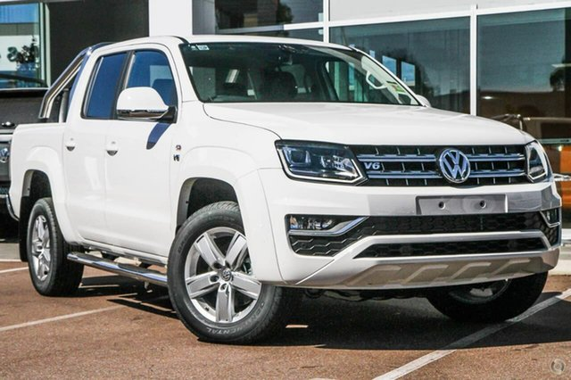 Demo Volkswagen Amarok 2H MY19 TDI550 4MOTION Perm Highline, 2018 Volkswagen Amarok 2H MY19 TDI550 4MOTION Perm Highline White 8 Speed Automatic Utility
