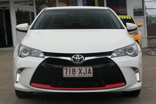 2016 Toyota Camry ASV50R Atara SX Diamond White 6 Speed Sports Automatic Sedan