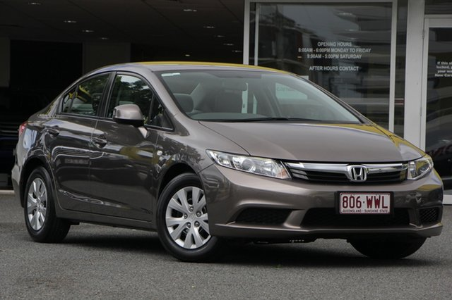 Used Honda Civic 9th Gen Ser II VTi, 2012 Honda Civic 9th Gen Ser II VTi Grey 5 Speed Sports Automatic Sedan