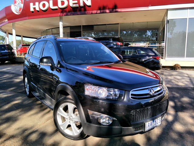 Used Holden Captiva CG MY13 7 AWD LX, 2013 Holden Captiva CG MY13 7 AWD LX Black/Grey 6 Speed Sports Automatic Wagon