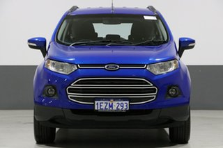 2015 Ford Ecosport BK Trend Blue 6 Speed Automatic Wagon.