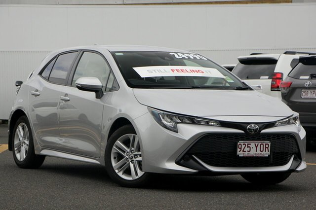 Demo Toyota Corolla Mzea12R Ascent Sport, 2018 Toyota Corolla Mzea12R Ascent Sport Silver Pearl 10 Speed Constant Variable Hatchback