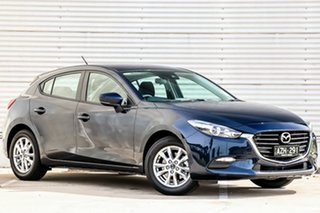 2018 Mazda 3 BN5478 Neo SKYACTIV-Drive Sport Deep Crystal Blue 6 Speed Sports Automatic Hatchback.