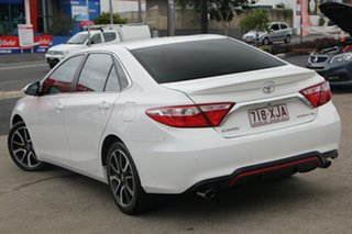 2015 Toyota Camry ASV50R Atara SX Diamond White 6 Speed Sports Automatic Sedan.