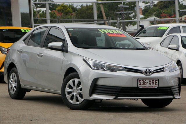 Used Toyota Corolla ZRE172R Ascent S-CVT, 2017 Toyota Corolla ZRE172R Ascent S-CVT Silver 7 Speed Constant Variable Sedan
