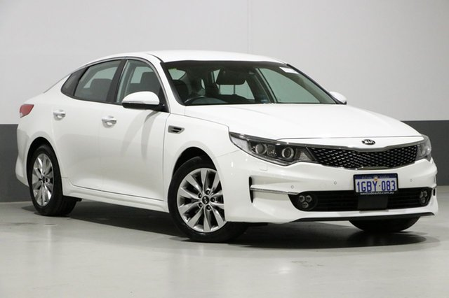 Used Kia Optima JF MY16 SI, 2016 Kia Optima JF MY16 SI White 6 Speed Automatic Sedan