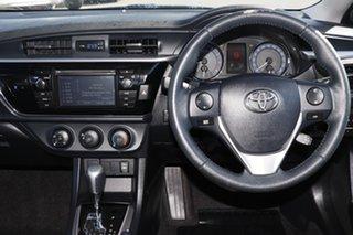 2015 Toyota Corolla ZRE172R SX S-CVT Black/Grey 7 Speed Constant Variable Sedan