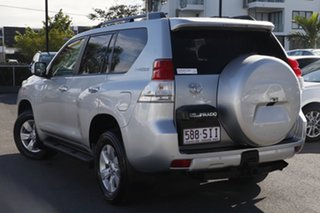 2012 Toyota Landcruiser Prado KDJ150R Altitude Silver Pearl 5 Speed Sports Automatic Wagon.