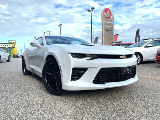 Demo Chevrolet Camaro  2SS, 2018 Chevrolet Camaro 2SS 2SS Summit White 8 Speed Automatic Coupe