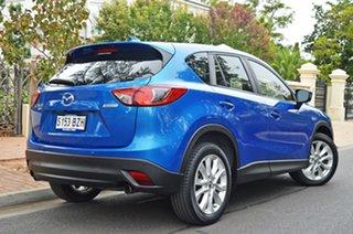 2012 Mazda CX-5 KE1071 Grand Touring SKYACTIV-Drive AWD Blue 6 Speed Sports Automatic Wagon.