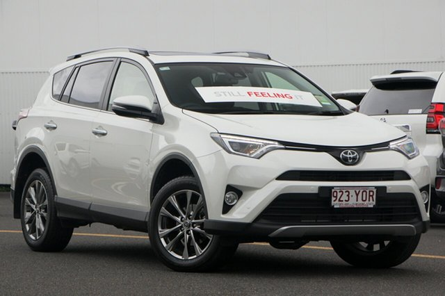 Demo Toyota RAV4 ASA44R Cruiser AWD, 2018 Toyota RAV4 ASA44R Cruiser AWD Crystal Pearl 6 Speed Sports Automatic Wagon