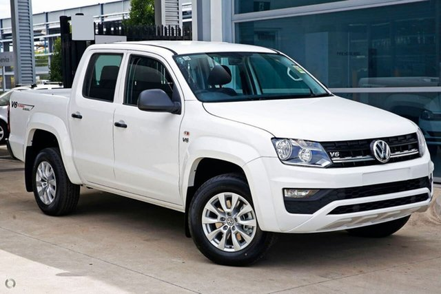 Demo Volkswagen Amarok 2H MY19 TDI550 4MOTION Perm Core, 2018 Volkswagen Amarok 2H MY19 TDI550 4MOTION Perm Core White 8 Speed Automatic Utility