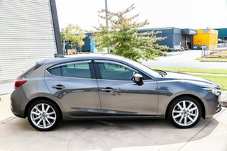 2018 Mazda 3 BN5438 SP25 SKYACTIV-Drive GT Machine Grey 6 Speed Sports Automatic Hatchback
