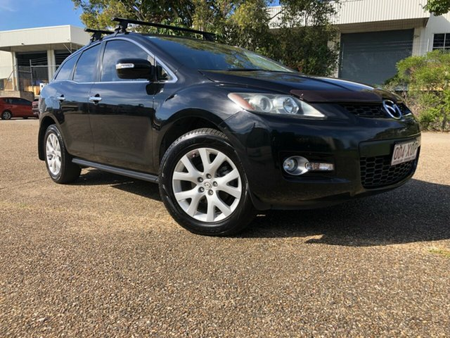 Used Mazda CX-7 ER1031 MY07 Luxury Underwood, 2007 Mazda CX-7 ER1031 MY07 Luxury Black 6 Speed Automatic Wagon